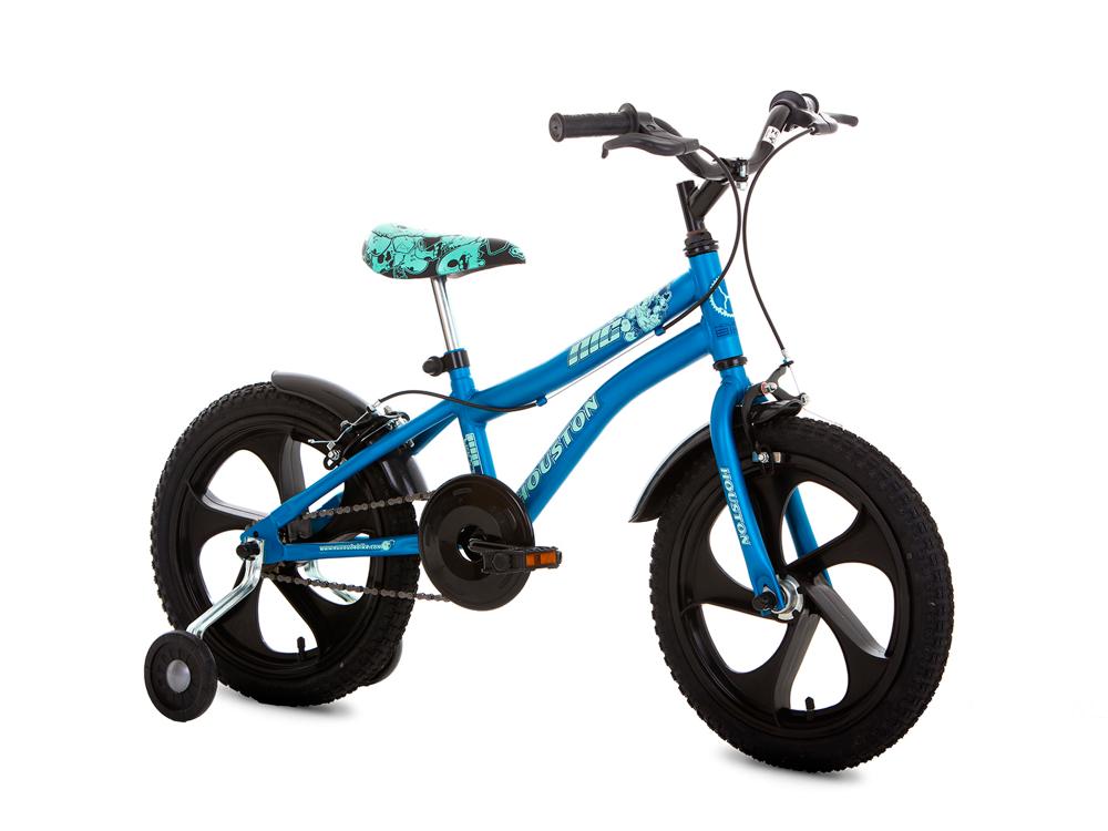 22b99a633 Bicicleta Houston NIC - Aro 16 - Azul Preto - Cicles Bike Shop